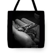 Jesus With Us Tote Bag