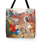 Jesusaway Tote Bag