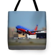 Jet Chicago Airplanes 17 Tote Bag