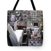 Jet Cockpit Tote Bag