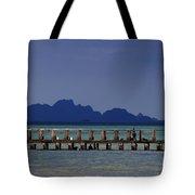 Jetty People Of Bang Saphan Tote Bag