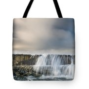 Jetty Spillover Waterfall Tote Bag