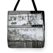 Jew Town In Cochin Tote Bag