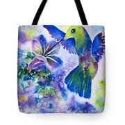 Jewel In Flight Tote Bag