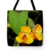 Jewel Weed Tote Bag