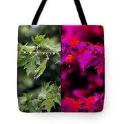 Jeweled Rain Transformed Tote Bag
