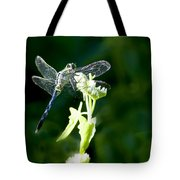 Jeweled Wings Tote Bag