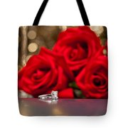 Jewelry And Roses Tote Bag