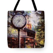 Jewelry Square Clock Milford  Tote Bag