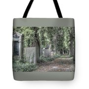 Jewish Cemetery Weissensee Berlin Germany Tote Bag