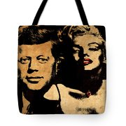 Jfk And Marilyn Tote Bag