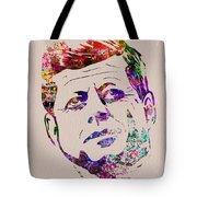 Jfk Watercolor Tote Bag