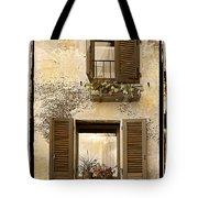 Orvieto Window Polaroid Tote Bag