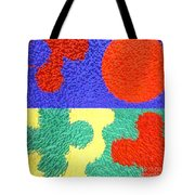 Jigsaw Pieces Tote Bag by Patrick J Murphy