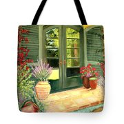 Jill's Patio Tote Bag
