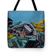 Jim Clark Indy 500 Tote Bag