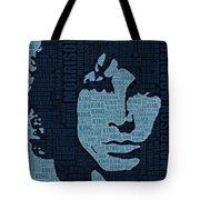 Jim Morrison The Doors Tote Bag