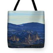 Jim Mountain Lava Field   #9037 Tote Bag