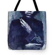 Jimi Hendrix 01 Tote Bag
