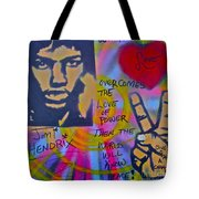 Jimi Power Tote Bag