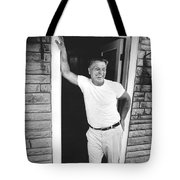 Jimmy Hoffa Interview Tote Bag