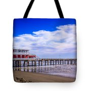 Jimmy's Pier Tote Bag