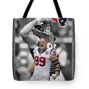 Jj Watt Texans Tote Bag