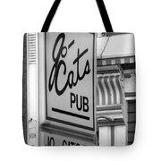 Jo Cats Pub Tote Bag