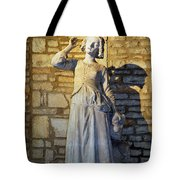 Joan Of Arc Hearing Voices By Francois Rude Tote Bag