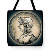 Joan Of Arc - Middle Ages Tote Bag