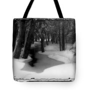 Job's Winter Stream Tote Bag