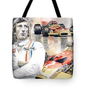Jochen Rindt Golden Leaf Team Lotus Lotus 49b Lotus 49c Tote Bag