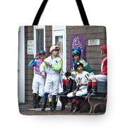 Jockeys Tote Bag
