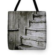 The Monochrome Steps Tote Bag