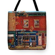 Joe Beef Restaurant Montreal Tote Bag