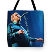 Joe Cocker Painting Tote Bag