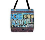 Joe Knows Nashville Tote Bag