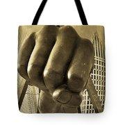 Joe Louis Fist In Detroit Tote Bag