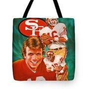 Joe Montana Tote Bag