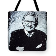 Joe Paterno Tote Bag by Chris Mackie