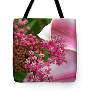 Asclepias And Friend Tote Bag