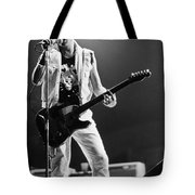 Joe Strummer At Clash Final Concert Tote Bag