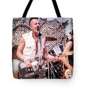 Joe Strummer Tote Bag by David Plastik
