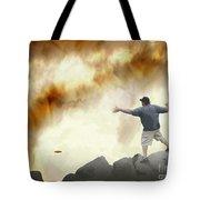 Joe Vs. The Volcano Tote Bag