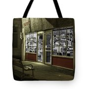 Joe's Barber Shop Tote Bag