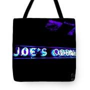 Joe's Corner Tote Bag