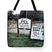 Joe's Place Farms Tote Bag