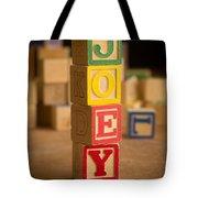 Joey - Alphabet Blocks Tote Bag