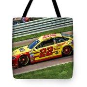 Joey Logano 2014 Tote Bag