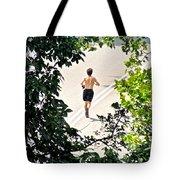 Jog Tote Bag by Randi Shenkman